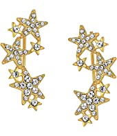 Kate Spade New York - Seeing Stars Star Ear Pin Earrings