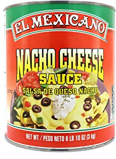 El Mexicano Nacho Cheese Sauce 6 lbs 10 oz