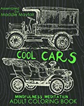 Cool Cars Mindfulness Meditation Adult Coloring Book