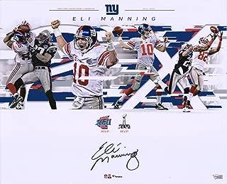Eli Manning New York Giants Autographed 16