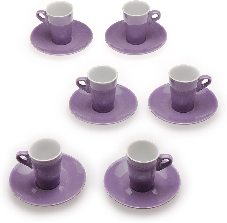 Spasm store price Tognana 6Elegant Coffee Cups Lilac