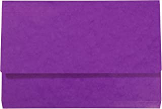 purple document wallets