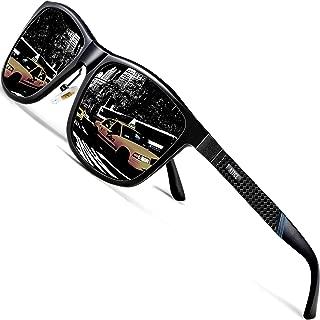 Men's Driving Polarized Sunglasses Al-Mg Metal Frame Ultra Light