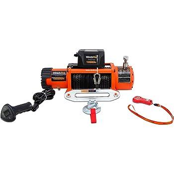 Todoterreno Con Mando Inal/ámbrico 4x4 Cabrestante Electrico 12v 5900Kg Winch Para Gr/úa