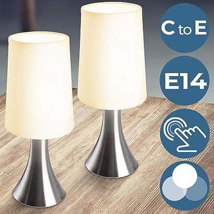 Amazon.es: Hierro - Lámparas de mesa y mesilla de noche ...