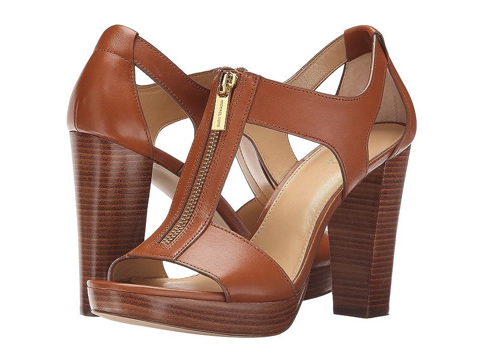 MICHAEL Michael Kors Berkley Sandal (Luggage Vacheta) Women