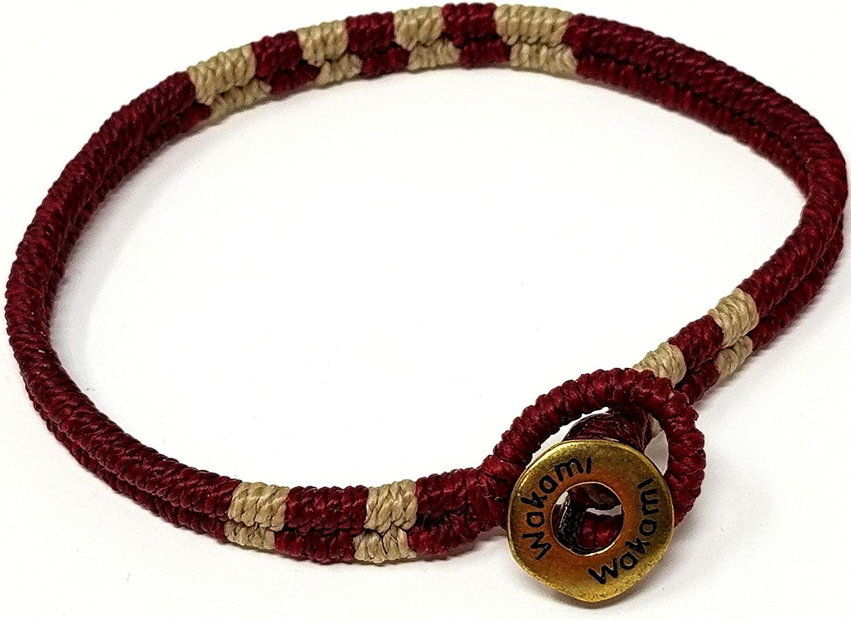 Wakami Classics Dark Red Bracelet WA9531-07