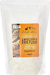 Chef's Choice Organic Wholegrain Rye Flour, 500 g