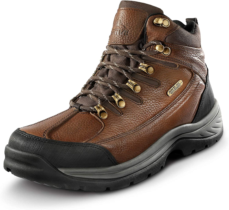 NORTIV 8 Men's Waterproof Steel Work Toe Finally popular brand Industry No. 1 Constructi Boots Safety
