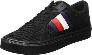 Tommy Hilfiger Lightweight Stripes Knit Sneaker, Scarpe da Ginnastica Basse Uomo