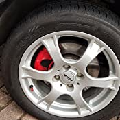 Foliatec 2181 Bremssattel Lack Set Elephant Grey Metallic Set Of 7 Auto