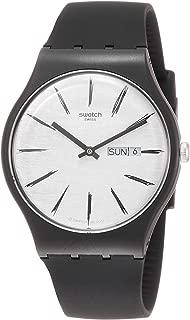 Swatch Matita SUOB726 Black Silicone Quartz Fashion Watch
