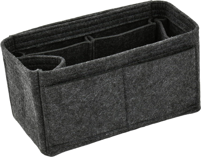 Felt Handbag Organizer Insert  Multi Pocket Bag and Tote Organizer Shaper Liner Insert