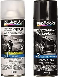 Dupli-Color ECWRC8800 Custom Wrap Wet Look Onyx Black