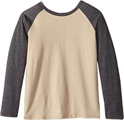 Long Sleeve Raglan Shirt - Reversible Front/Back (Little Kids/Big Kids)