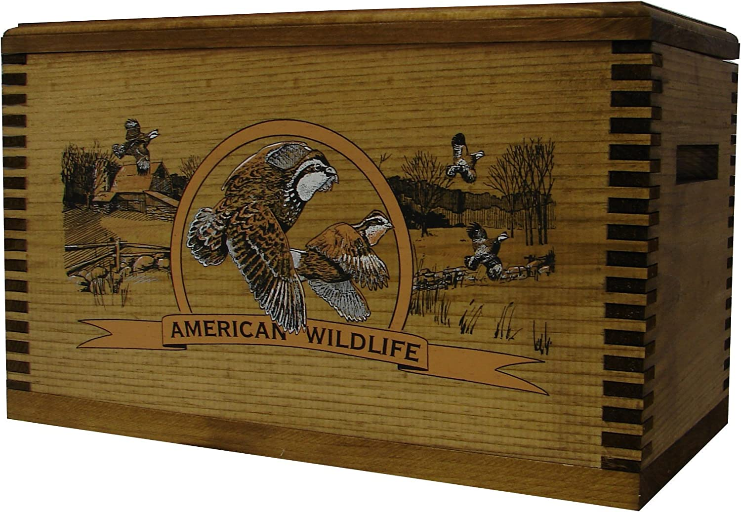 Evans Sports Accessory Case colord Wildlife Quail