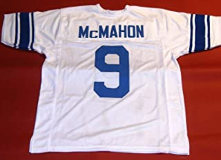 JIM McMAHON WHITE BYU CUSTOM STITCHED NEW FOOTBALL JERSEY MEN'S XL
