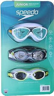 speedo 3 pack goggles