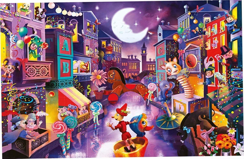 Mstoio shop 2000 Pieces Wooden Puzzles Landscape Fairy Jigs City Max 79% OFF Tale