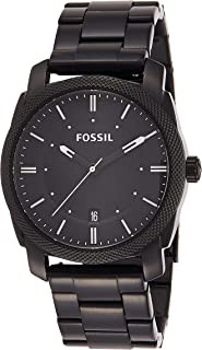 Fossil Casual Chronograph Black Dial Black Stainless Steel  Watch for  Men - FS4775