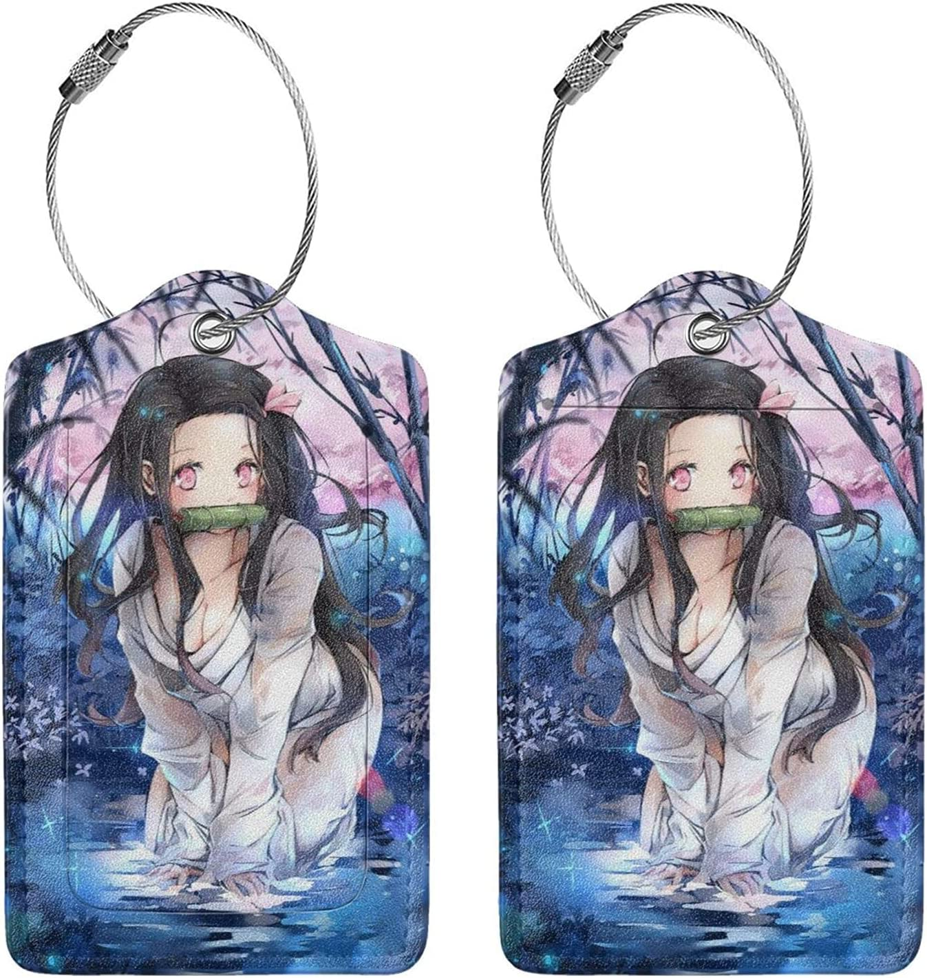 Demon Slayer Nezuko Kamado Anime Luggage Suitcas Daily bargain sale Lightweight Tag Max 40% OFF