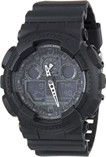 Casio G-Shock Analog-Digital Black Dial Men's Watch - GA-100-1A1DR (G270)