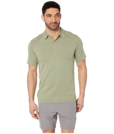 Royal Robbins Travel Dry Polo (Light Olive) Men