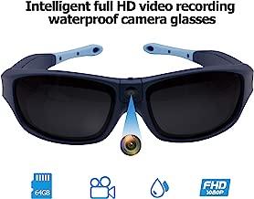 Viview G40 Sports Video Camera Glasses - Outdoor - HD1080@30fps/720P@60fps IP55 Waterproof w/OTG Function & Adjustable Lens- Four Colors (Ocean Blue)