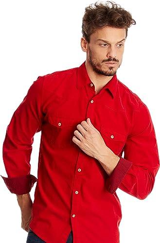 Desigual Homme Designer Chemise Shirt - DUROY -