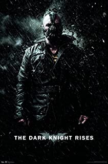 Trends International DC Comics Movie - The Dark Knight Rises - Bane Rain Wall Poster, 22.375