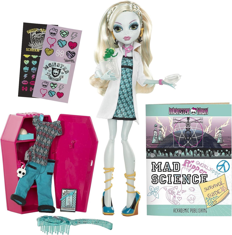 Mattel Monster High W2560 -  Lagoona Blau, Puppe