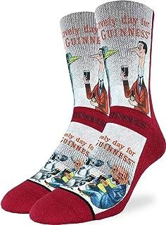 Good Luck Sock Men's Lovely Day for a Guinness Koala Socks - Shoe Size 8-13