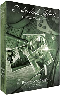 Sherlock Holmes Consulting Detective - The Baker Street Irregulars Board Game | Mystery Game for Teens and Adults | Ages 1...