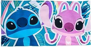 Disney Stitch and Angel Beach Towel