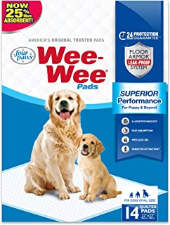 Four Paws Wee-Wee Absorbent Pads for Dogs