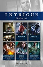 Intrigue Box Set 1-6 May 2020/Secret Investigation/Backcountry Escape/Conard County Justice/The Hunting Season/What She Knew/Murder in (Tactical Crime Division)