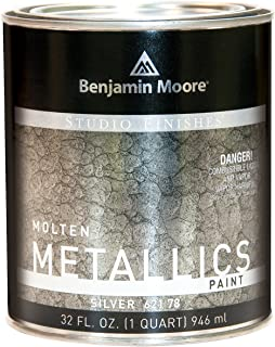 Studio Finishes Molten Metallics - Quart (Silver)