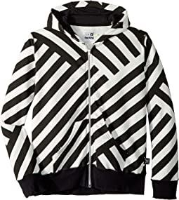 Striped Zip Hoodie (Little Kids/Big Kids)