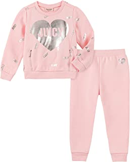 Juicy Couture Baby Girls 2 Pieces Sweater Pants Set