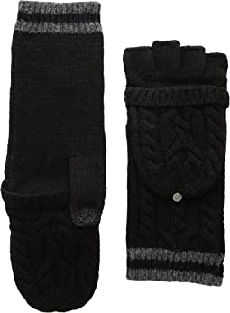 Cable Pop Top Touch Gloves