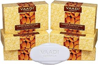 Vaadi Herbals Lavish Almond Soap, 75g x 6