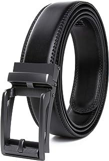 CONTACTS Men's Leather Belt
