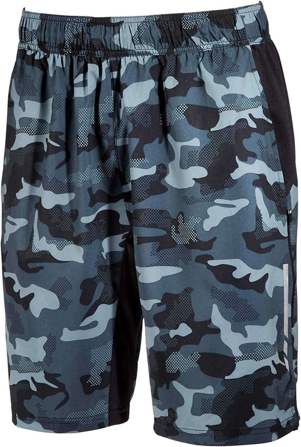 Ideology Mens Camo Athletic Workout Shorts