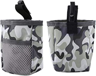 Pet Training Obedience Waist Pouch, 3 Colors 3.5 * 1.5 * 5.1 Pet Snack Bag, for Dog Cat Outdoor Pets(Camouflage)