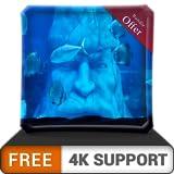 Acuario de estatua subacuática gratis HD: sumérjase en el mar para disfrutar de un hermoso acuario en su televisor HDR 4K, televisor 8K y dispositivos de fuego como fondo de pantalla, decoración para