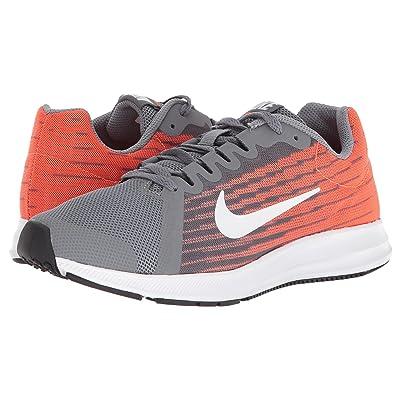 Nike Kids Downshifter 8 (Big Kid) (Cool Grey/White/Hyper Crimson/Dark Grey) Boys Shoes