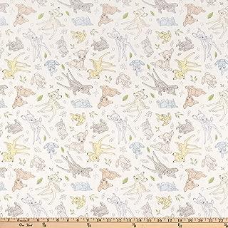 Springs Textiles Disney Bambi Nursery Best of Friends Multi Fabric