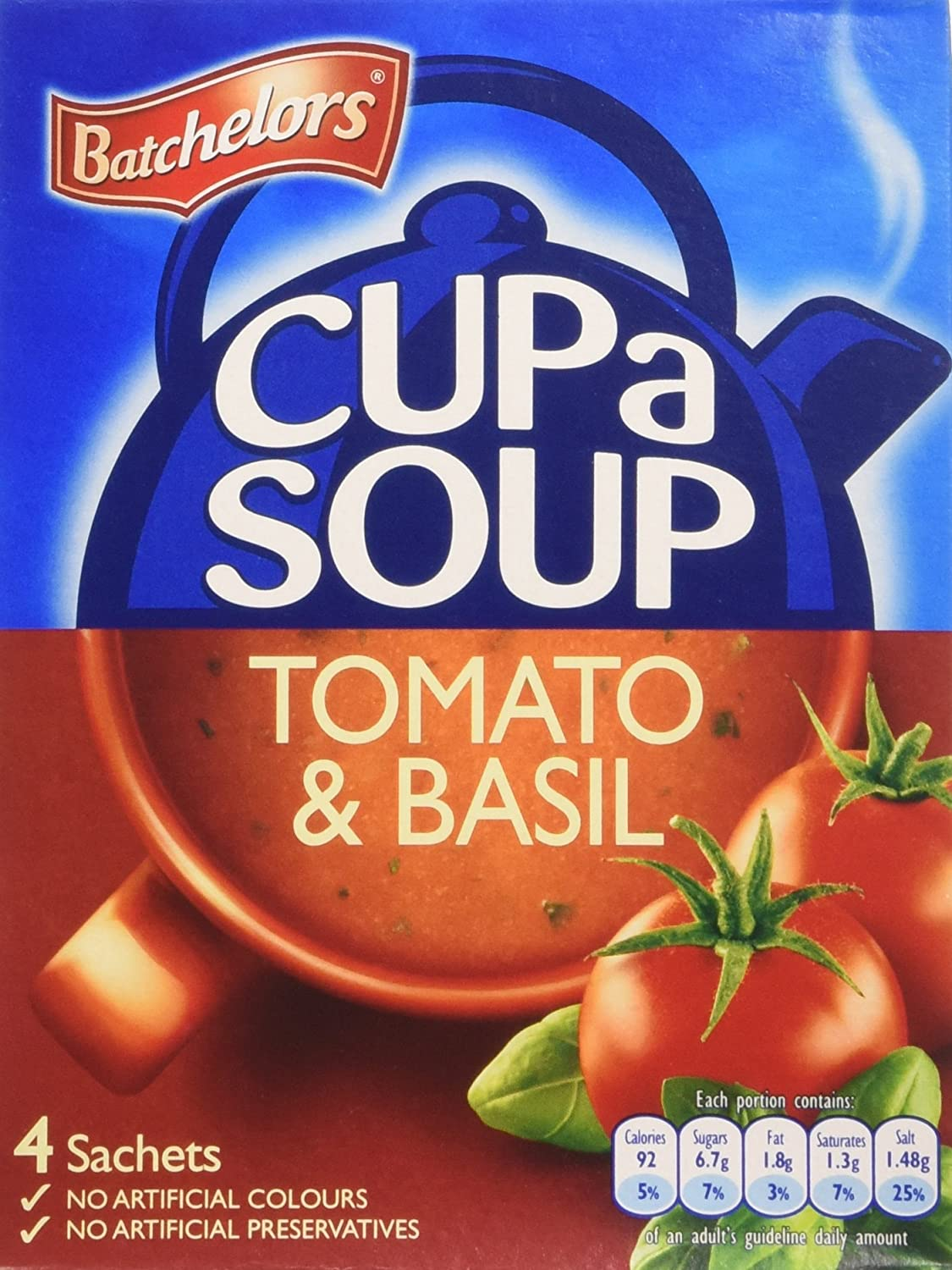 Batchelors Cup a Soup Rich Basil Tomato and Challenge the lowest price of Japan Virginia Beach Mall 104g