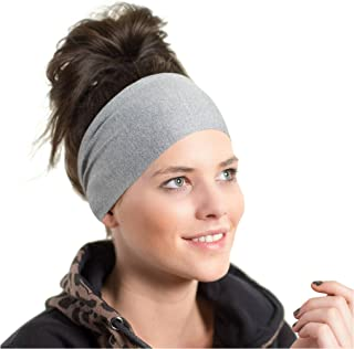 Red Dust Active Lightweight Sports Headband - Non Slip Moisture Wicking Sweatband - Ideal for Running, Cycling, Yoga and Athletic Workouts