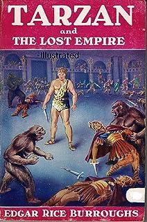 Tarzan and the Lost Empire Illustrated (English Edition)